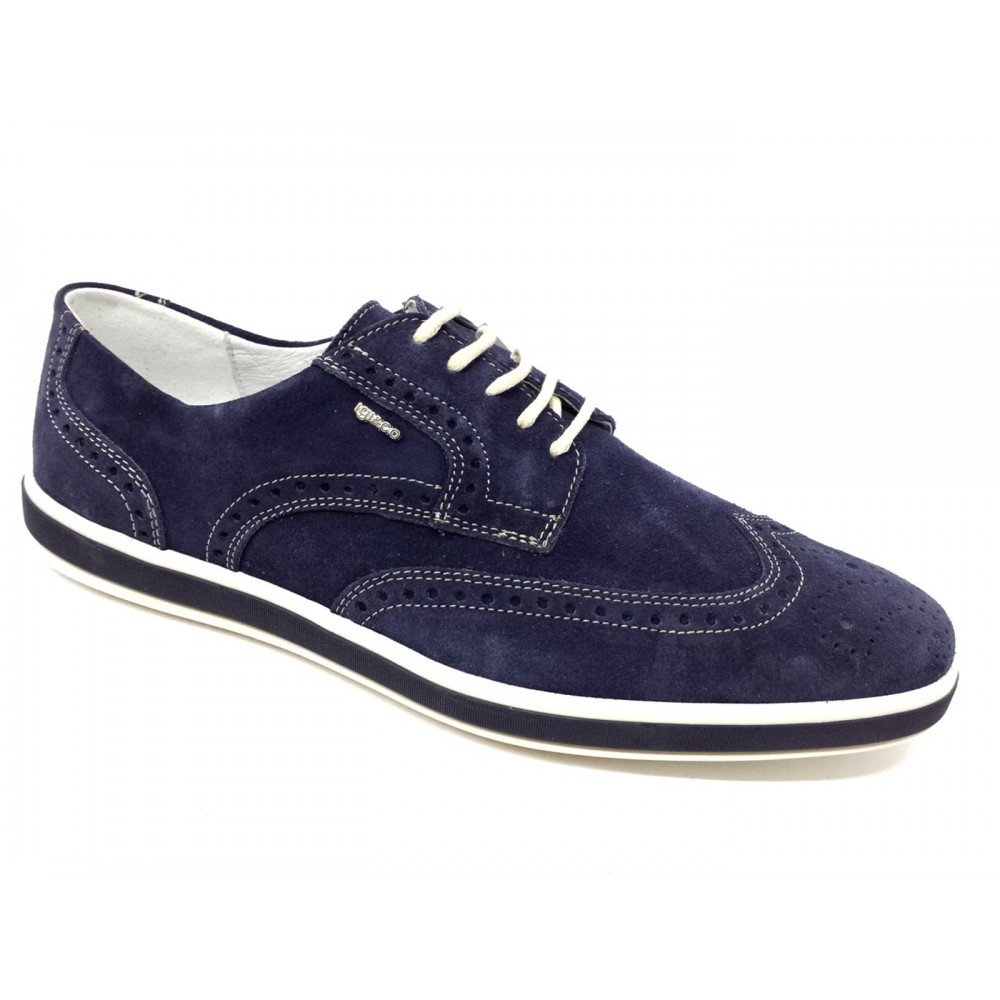 IGI&Co IGI&Co IGI&Co Herren Sneaker Blau Blau, Blau Blau Größe  41 EU  Amazon ... 968a5a