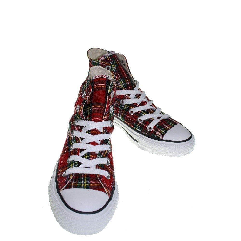 Converse All Star Tartán Ska Chuck Taylor Red/Tartan Hi 1q455tamaño 40(UK: 7) ZCDNhdS7w