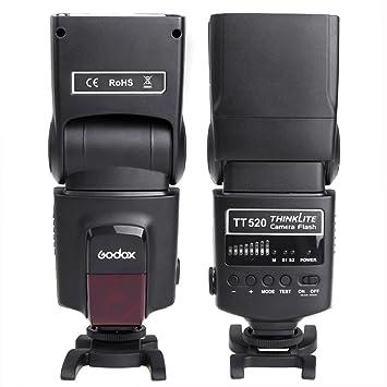 Godox TT520 Flash Speedlite con zapata Difusor de Flash negro para ...