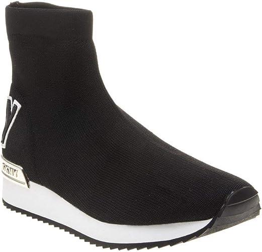 Dkny Marrin Sock Trainers Black 4 UK