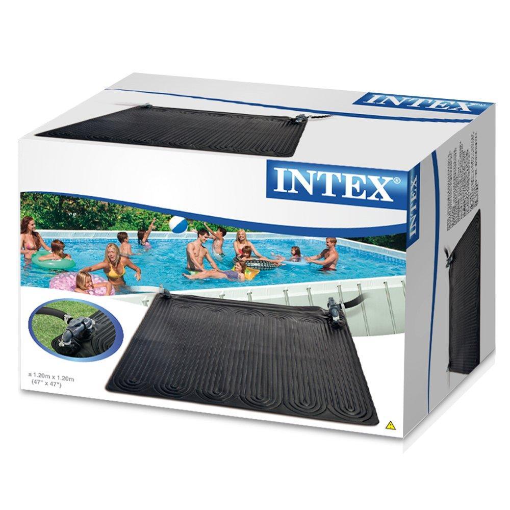 Intex - Alfombra calentador solar de agua Intex 120 cm - 28685: Amazon.es: Jardín
