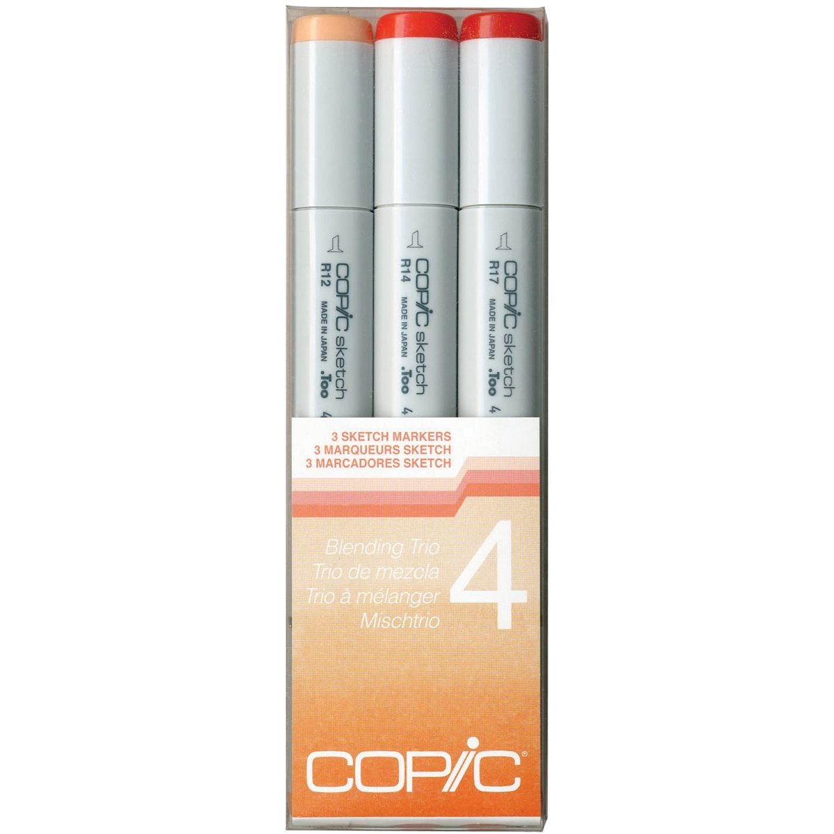Copic Marker Sketch Blending Trio Markers, SBT 2, 3-Pack SBT-2