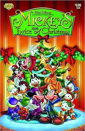 mickeys twice upon a christmas diamond comic distributors inc 9780911903607 amazoncom books - Mickey Mouse Twice Upon A Christmas