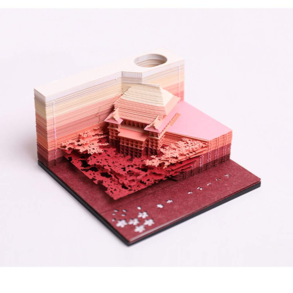 3D Sticky Notes adesivi carte portatile Giappone carta arte costruzione opere d'artigianato artigianale creativo convenienza