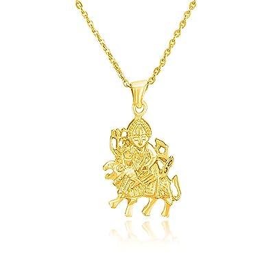 Buy mahi valentine love gold plated maa durga pendant ps1101506g mahi valentine love gold plated maa durga pendant ps1101506g mozeypictures Image collections