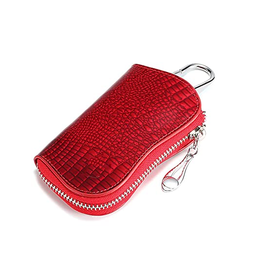 YAOSISI Ama de llaves Key Holder Key Case Zipper 6 Llaveros ...