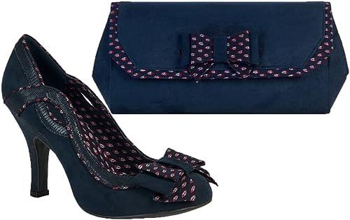 Ruby Shoo Ivy Womens Shoes Blue