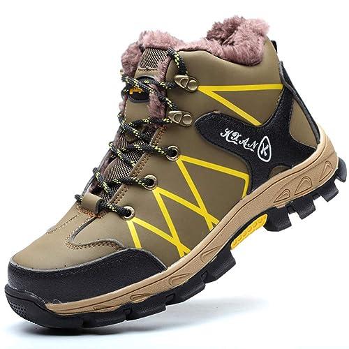 revendeur 31147 25ec4 COOU Homme Femmes Chaussure de Securite Hiver Chaudes s3 Chaussure de  Travail Impermeable Semelle de Protection