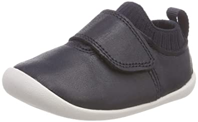 7889fd4de3 Clarks Unisex Kids' Roamer Seek Low-Top Slippers, Blue (Navy Leather)