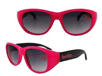 Amazon.com: Negro y rosa snoopy Rock Star – Gafas de sol ...