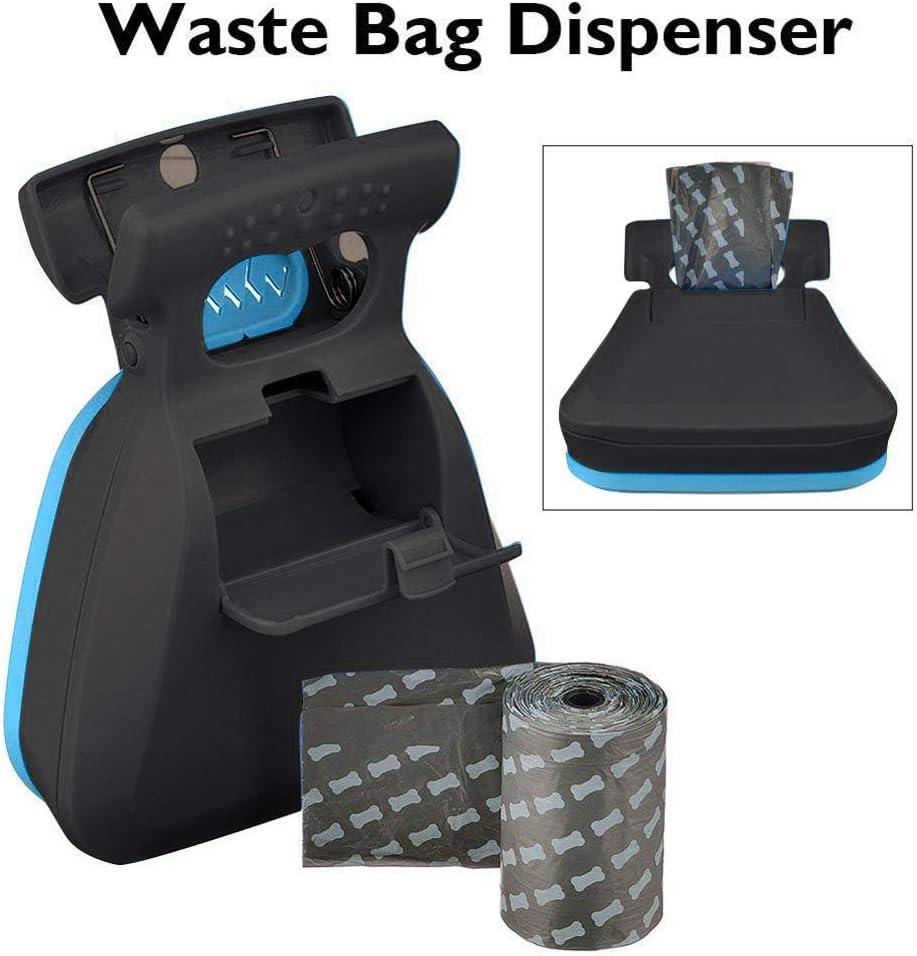 iBaste/_top Shovel Pet Toilet Picker Foldable Dog Waste Bag Dispenser 2 in 1 Pet Pooper Scooper with Poop Bags Dog Waste Scoop Pet Pooper With Pet Trash Bag