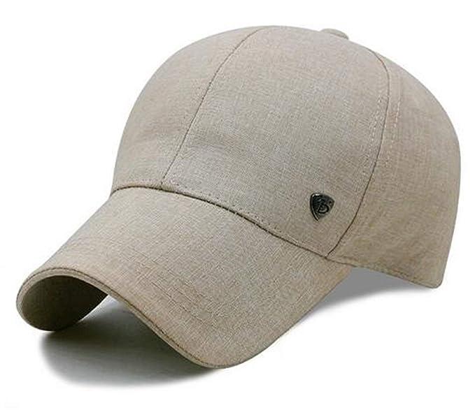 HX fashion Gorra Casual Hombres Y Mujeres Deporte Al Aire Libre Tamaños  Cómodos Sombrero para El Sol Visor De Golf Gorra De Moda Y Moda Sombrero  Ropa (Color ... 71ee11d3082