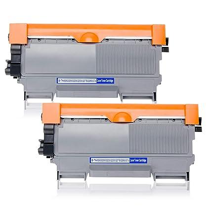 Vmosgo TN2220 TN-2220 Cartuchos de tóner Compatible para Brother ...