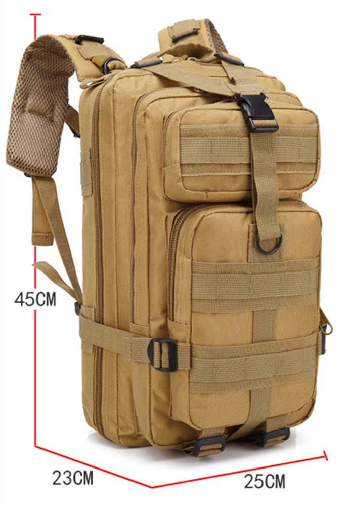 Amazon.com : Cranese Oxford 600D encryption 30L Hiking Backpacks, Outdoor Motion Multifunction Camouflage Backpack, 001 : Sports & Outdoors