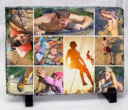 Civico Custom Photo Slate; Graduation/Anniversary/Memory Plaque-5.9