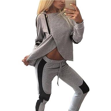 Xl L Damen-hausanzug-jogging-anzug-sportanzug Gr