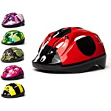 3Style Scooters® - Kids Cycle Helmet In 6 Awesome Designs - For Cycling, Skating, Scooting - Adjustable Headband Vented Design - Suitable For Kids Aged 4, 5, 6, 7, 8, 9, 10 & 11 Years Old