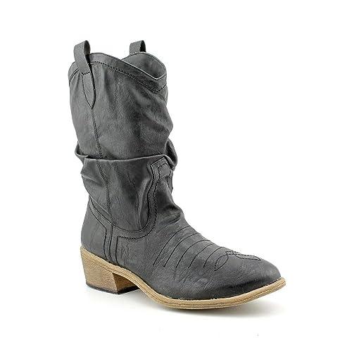 d0f22eb7550 Amazon.com | American Rag Womens Coyote Almond Toe Mid-Calf Cowboy ...