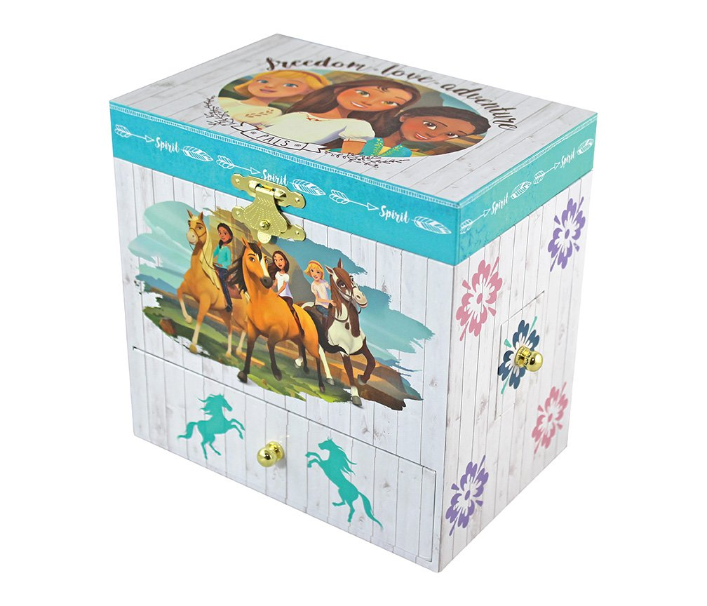 Breyer Spirit Riding Free - Spirit and Lucky Musical Horse Jewelry Box by Breyer (Image #2)