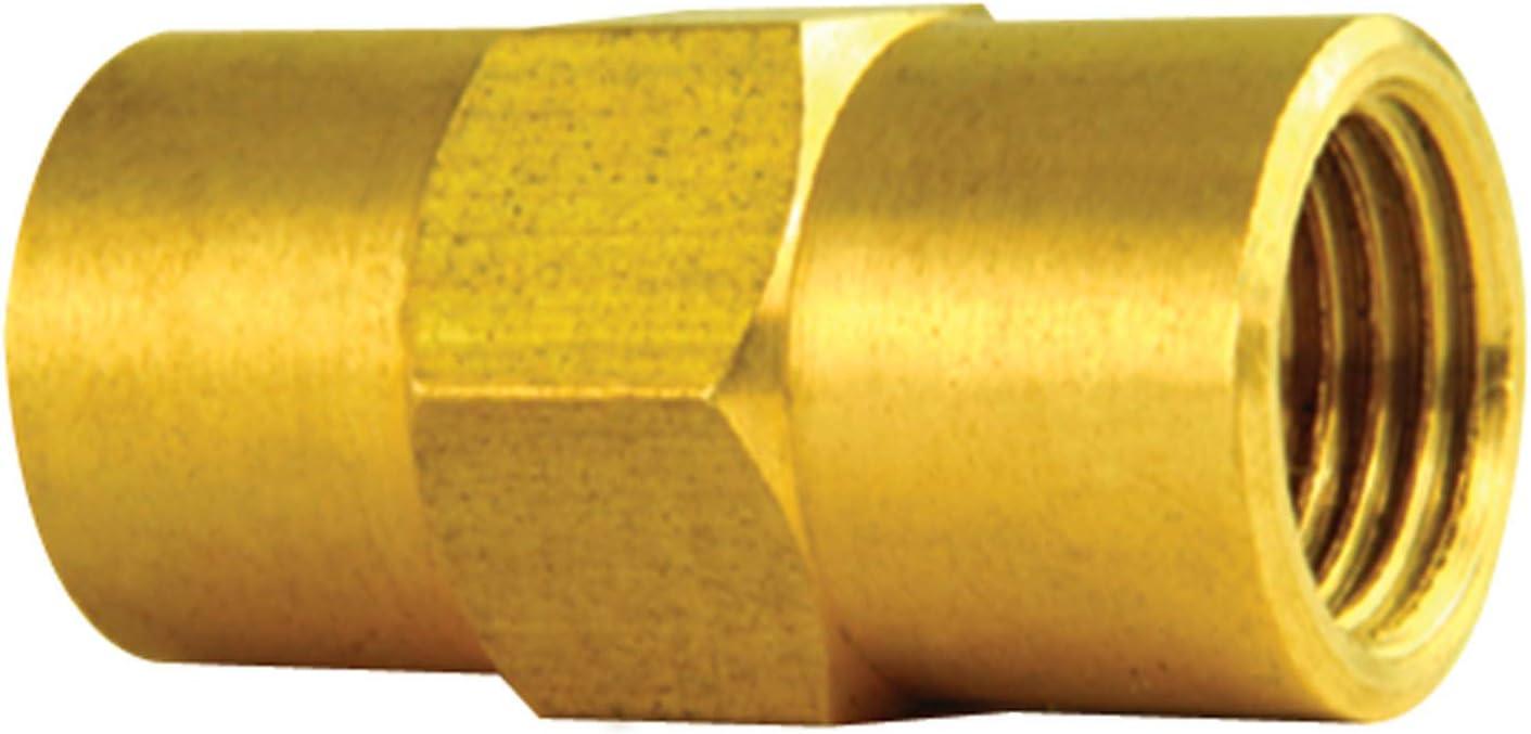 4LIFETIMELINES Brass Brake Line Union M10x1.0 Inverted 10//bag 3//16