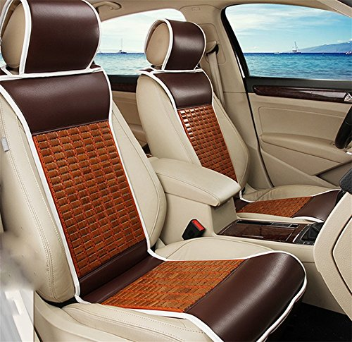 oofay Monolithic car seats Stereo seat cushions Summer seat cushions, brown: Amazon.co.uk: Sports & Outdoors