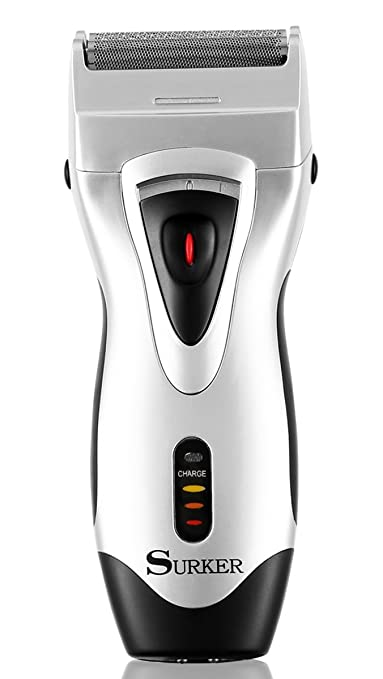 Surker Shaver with Pop Up Trimmer Beard Trimmers at amazon