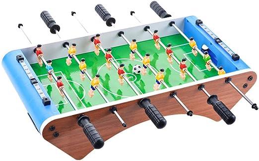 ZHJIUXING ZQ Portátil Mesa de futbolín, Mesa de futbolín para niños de 18 Jugadores 50 x 25 x 12,5 cm para Regalo de cumpleaños de Adultos Adolescentes Regalo para niños: Amazon.es: Deportes