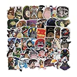 Homyu Stickers PVC Decals Waterproof Sunlight-Proof DIY Ideals for Cars Motorbikes Skateboard Spinner Luggages Laptops