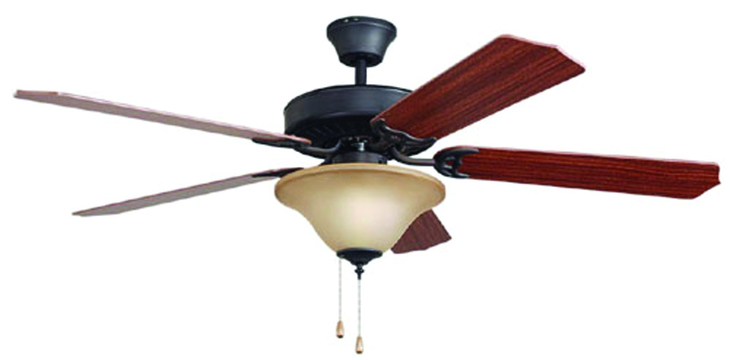 Bala 283015 Dual Mount Ceiling Fan with Bowl Light Kit, 52-Inch, Aged Bronze