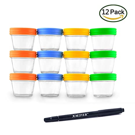 Amazoncom Food Storage Containers Baby Food Storage Glass Jars