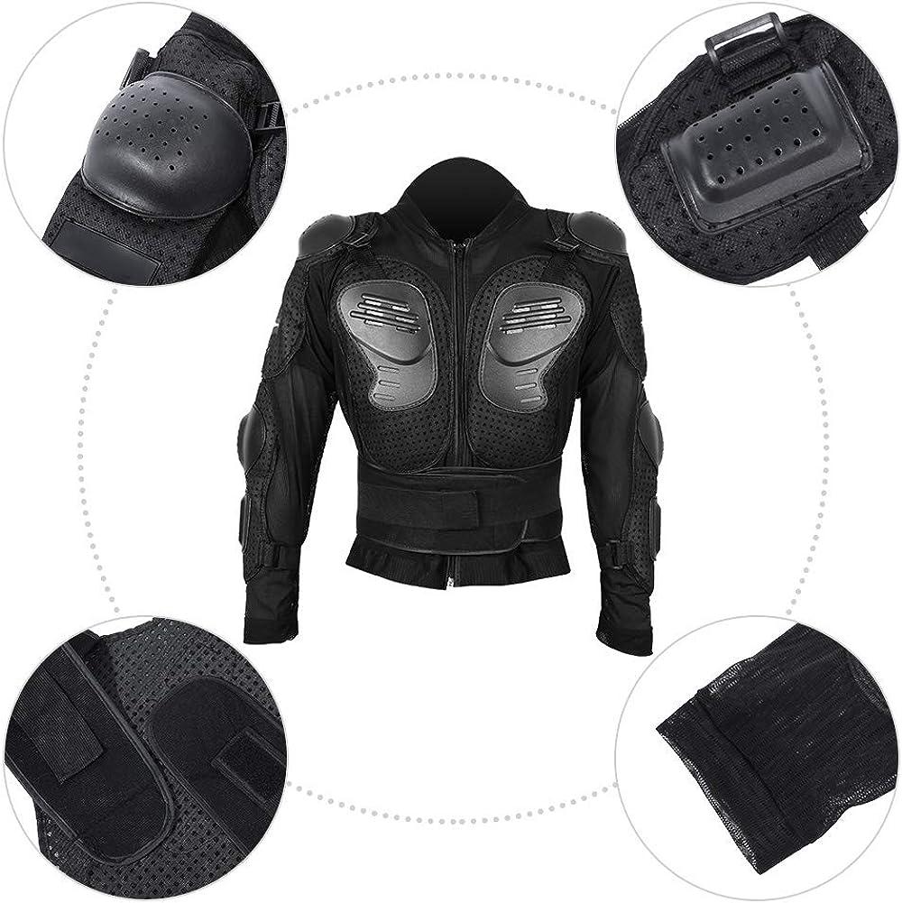 Cocoarm Veste de protection int/égrale pour moto et VTT Noir Taille M