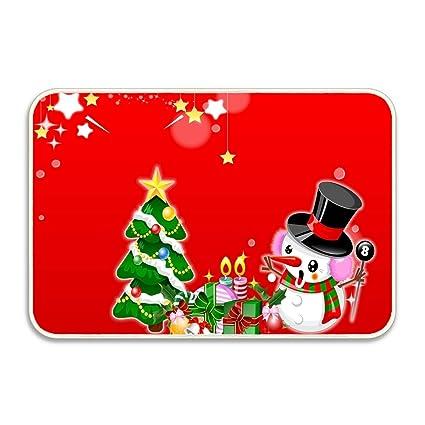 da8787a56 Amazon.com : Soft Non-Slip Snowman Surprise Tree Gifts Candles Stars ...