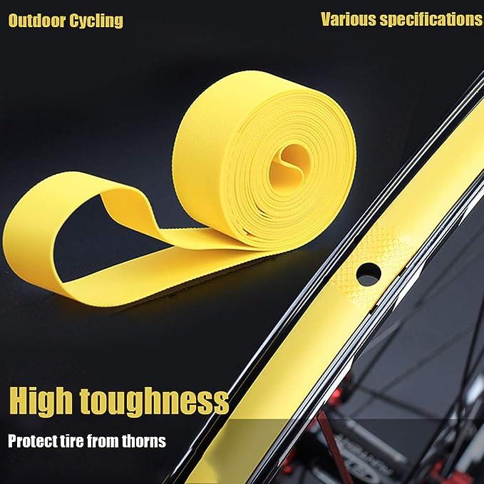 2PCS Bicycle Inner Tube Wheel Tyre Protection Pad Liner Bike Tire Rim Tape Tools
