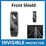 Garmin Vivosmart HR Front INVISIBLE Screen Protector (Front Shield Included) - Military Grade Protection Exclusive to ACE CASE