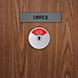 Kichwit Privacy Sign, Do Not Disturb Sign, Out of