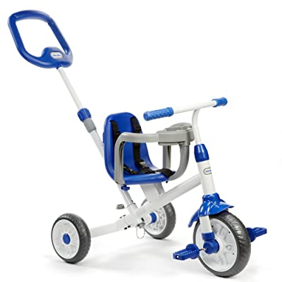 Little Tikes Ride 'N Learn 3-in-1 Trike, Blue: Toys & Games