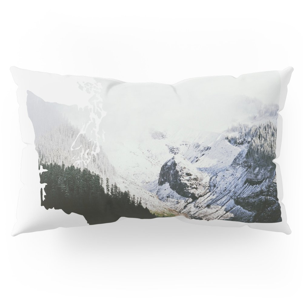 Society6 I Love Washington I Pillow Sham King (20'' x 36'') Set of 2