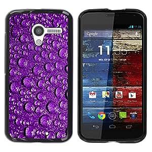 Be Good Phone Accessory // Dura Cáscara cubierta Protectora Caso Carcasa Funda de Protección para Motorola Moto X 1 1st GEN I XT1058 XT1053 XT1052 XT1056 XT1060 XT1055 // Water Drop