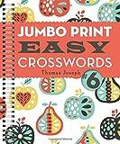 img - for Jumbo Print Easy Crosswords #6 (Large Print Crosswords) book / textbook / text book