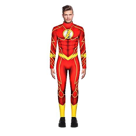 Leezeshaw - Disfraz de superhéroe en 3D para Hombre, de ...