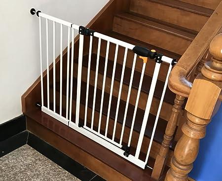 El sabor del hogar. Puerta de Seguridad para bebés Puerta de Aislamiento niños balcón Puerta Protectora para Perros escaleras protección protección Puerta Fija (Tamaño : 103-112cm): Amazon.es: Hogar