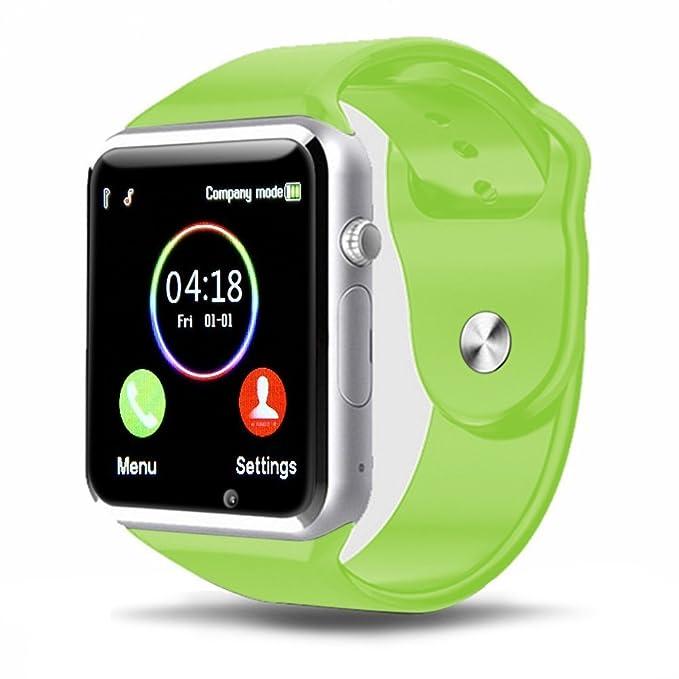 Smartwatch Padcod Bluetooth Smart Watch Reloj Inteligente A1 GSM Bluetooth Soporte Smartwatch 1.54 Pulgadas con Cámara Pulsera Teléfono Reloj Pantalla ...