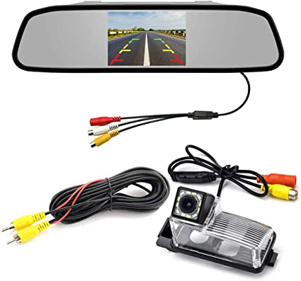 Car CCD Backup Rearview Camera for Nissan-370Z Waterproof Night Vision