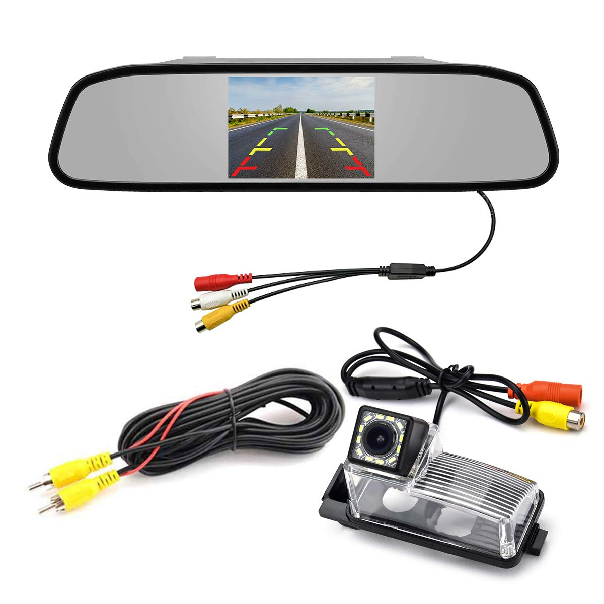 8 LED aSATAH 8 LED Car Rear View Camera for Buick Regal//Excelle XT//Chevrolet Vectra//Holden//Chevrolet Malibu//Vauxhall /&Waterproof and Shockproof Reversing Backup Camera
