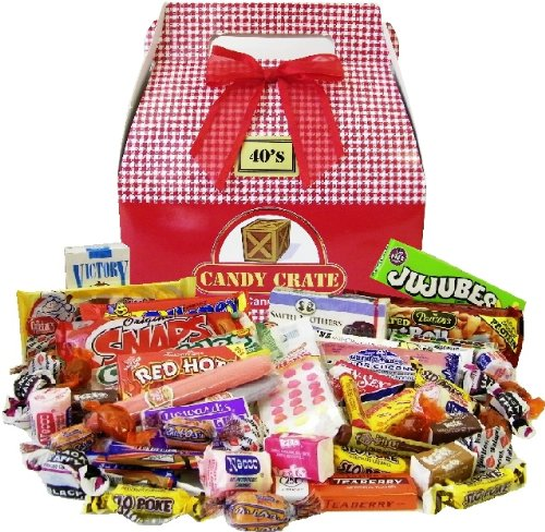 1940's Valentine Retro Candy Assortments