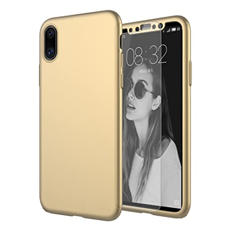 custodia cover iphone x 360