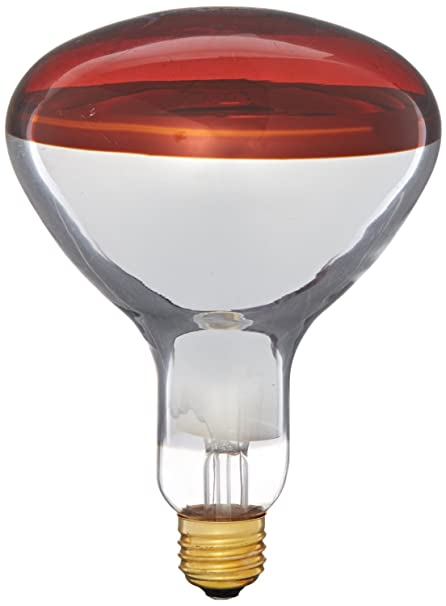 b171452809c5 Philips 415836 Heat Lamp 250-Watt R40 Flood Light Bulb 4 Pack - Halogen  Bulbs - Amazon.com