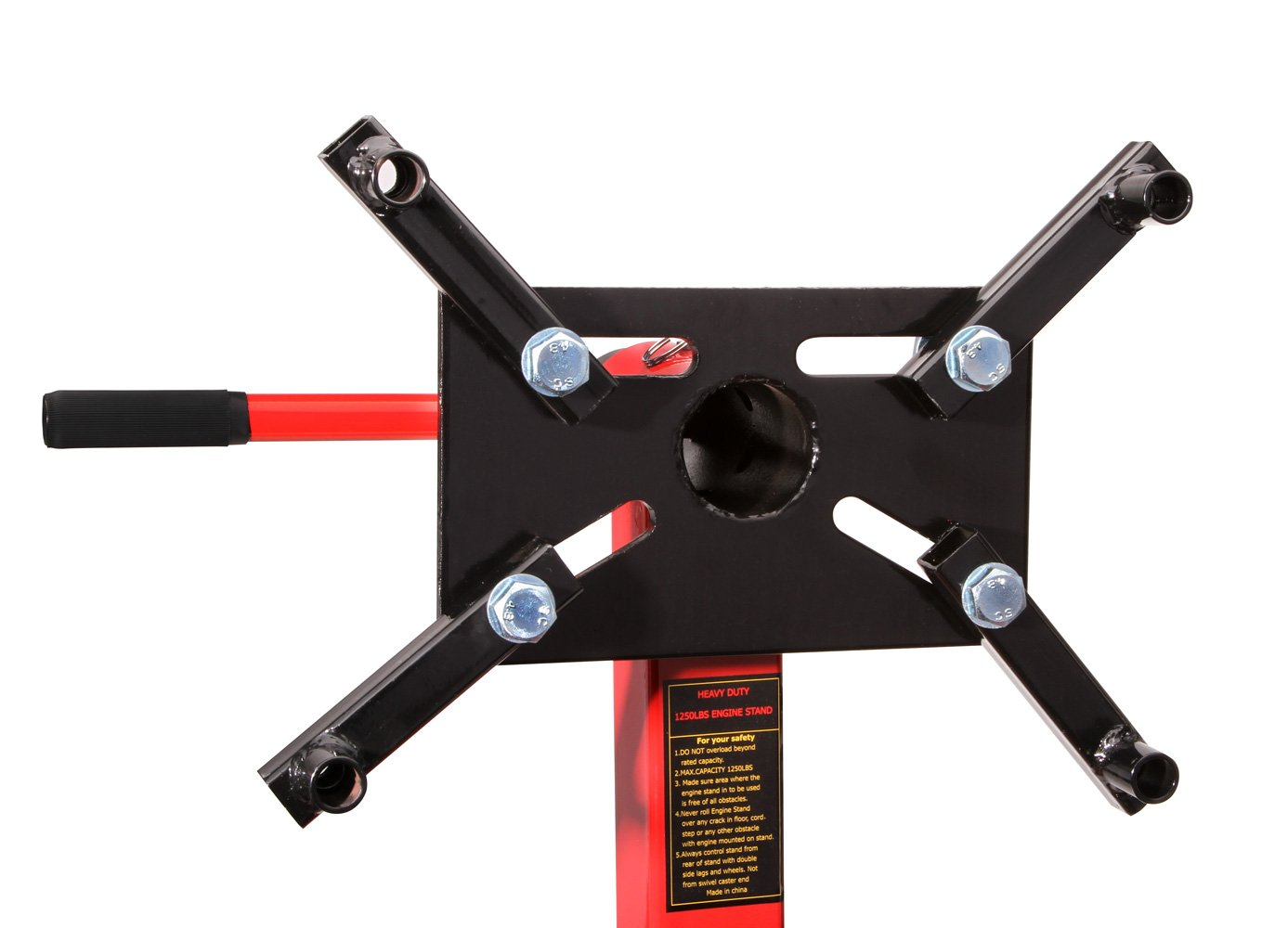 Herkules Werkzeuge Support de Moteur en Acier sur roulettes 567 KG