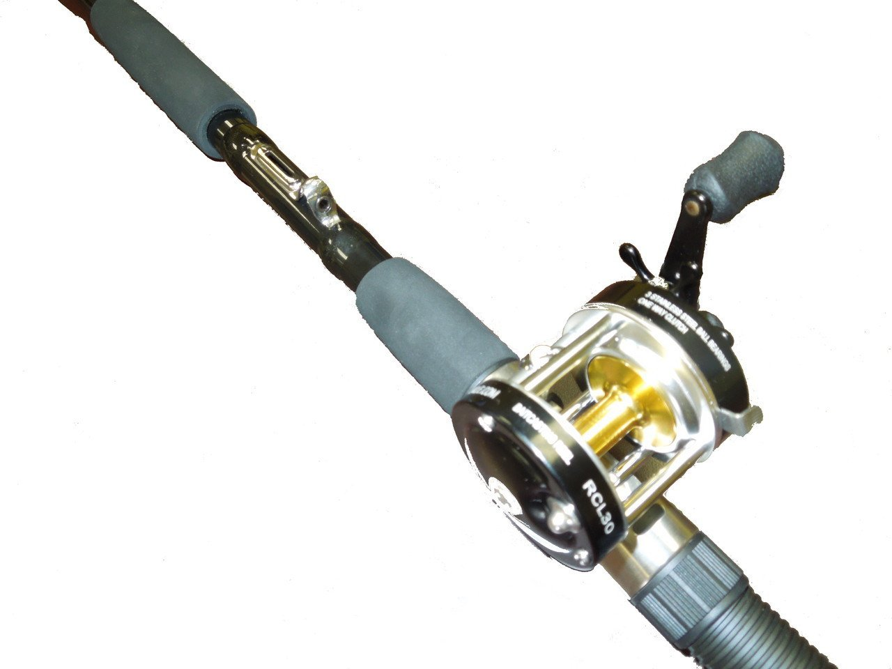 Sabiki 8 foot bait fishing rod bait caster fishing reel combo by EAT MY TACKLE
