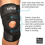 Knee-Brace-Support-Protector-Relieves-Patella-Tendonitis-Jumpers-Knee-Mensicus-Tear-ACL-Lateral-Medial-Ligament-Sprains-Comfort-Design-TRUE-NON-SLIP-FIT-For-Arthritis-Sport-Running